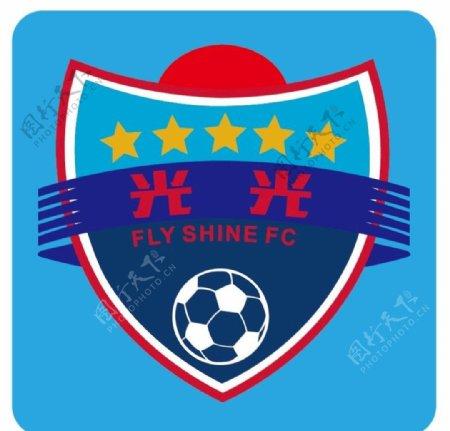 足球队徽足球俱乐部矢量