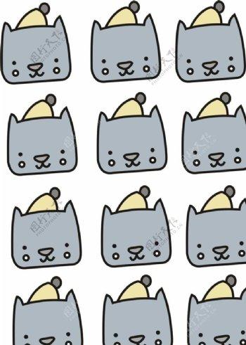 卡通小猫CDR矢量可更改