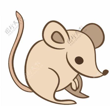 卡通动物创意图案
