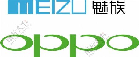 oppo魅族logo