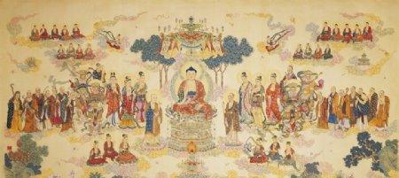 佛祖说法图