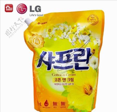 LG衣物柔顺剂木棉花