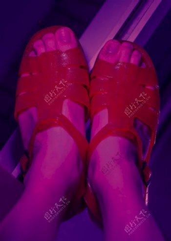 国货潮牌凉鞋