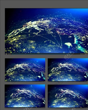 全球化信息科技联通视频动画