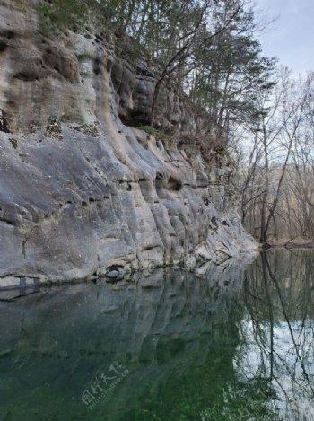 山欧扎克山水河溪户外