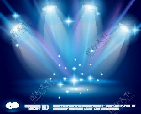 舞台灯光背景