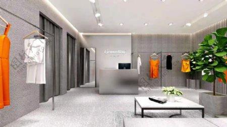 戈蔓婷时尚女装店原创设计效果图