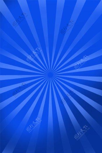 蓝色射线背景