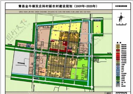 某新农村建设规划平面设计图