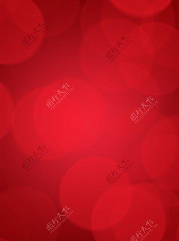 简约纯色系背景中国红
