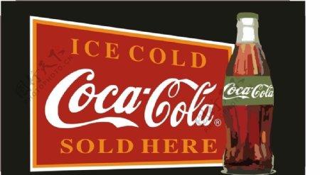 可口可乐标识