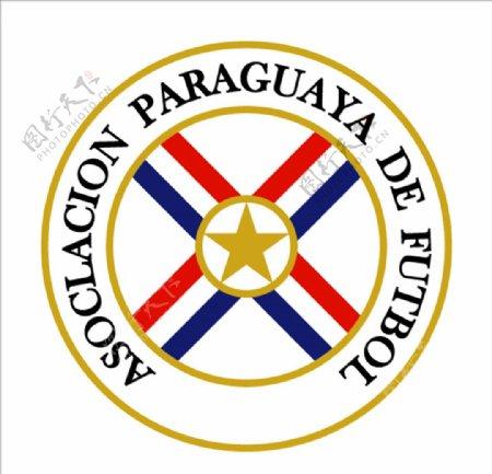 巴拉圭国家足球队队徽logo