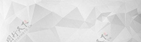 灰色几何banner背景图片