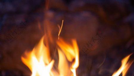 燃烧的火苗背景