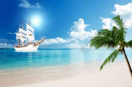 海景一帆风顺