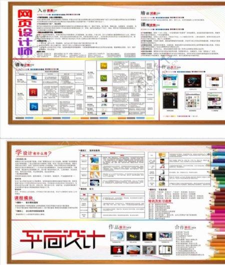 平面设计培训宣传海报