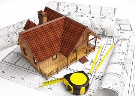 房屋建筑模型