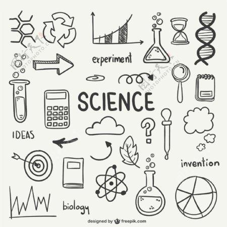 科学绘制图标