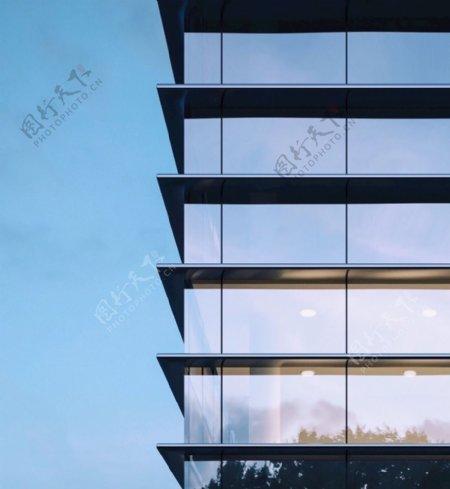 建筑楼体外立面新亚洲风格