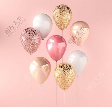 生日宴会活动气球