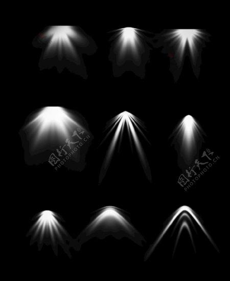 ps灯光图片