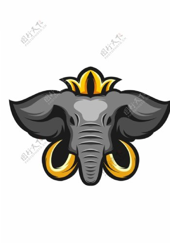 大象标识标志图标海报素材图片