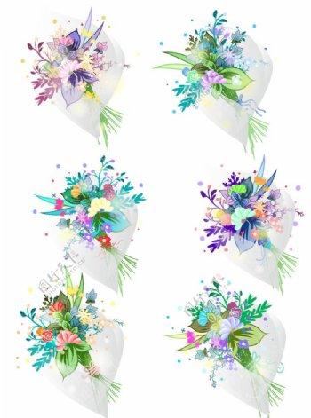 婚礼花束素材图片