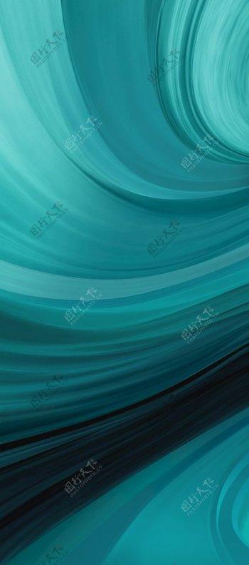 蓝色渐变背景图片