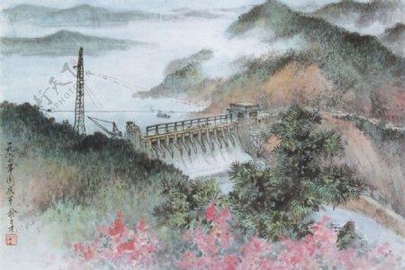 新安江水电站图图片