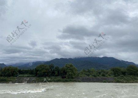 都江堰水道图片