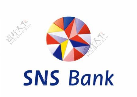 荷兰SNS银行标志LOGO图片