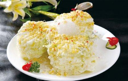 蒜香大白菜图片