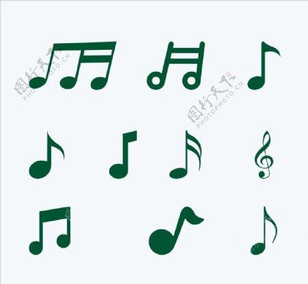 矢量音符元素cdr文件图片