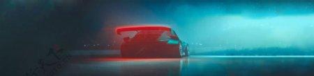 汽车跑车交通工具背景图片