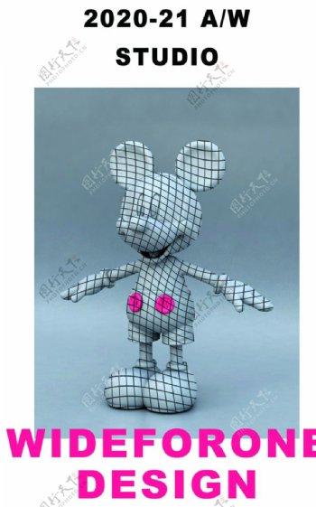 3D米老鼠图片