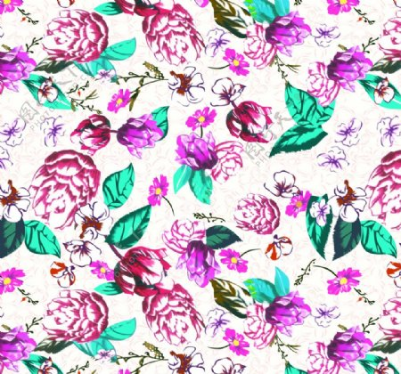 手绘花卉花图片