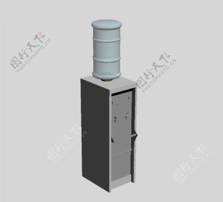饮水机3D模型图片