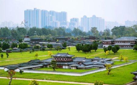 精致的宫殿建筑图片
