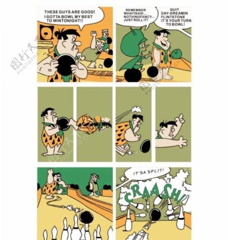 卡通动漫手绘服装图案印花图片