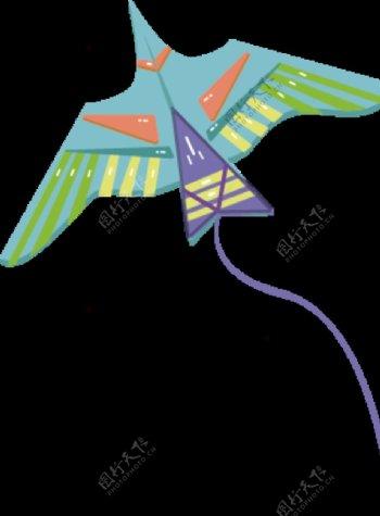扁平风插图燕子素材图片
