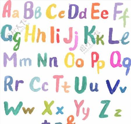 大小写英文字母图片