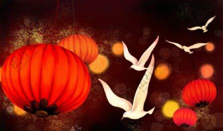 喜庆中国传统元素图片