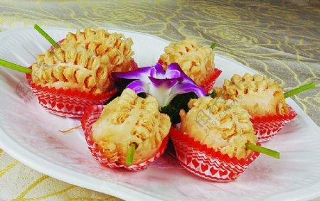 豫菜泰式榴莲酥图片