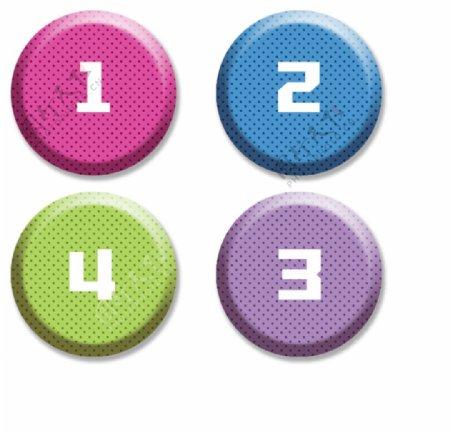 数字按钮图片