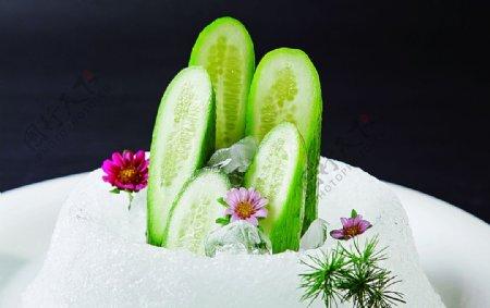 特色菜有机青瓜图片