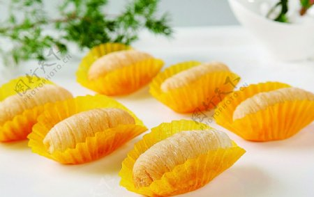 浙菜飘香榴莲酥图片