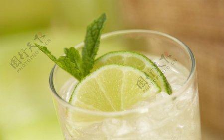 柠檬茶饮料饮品背景素材图片