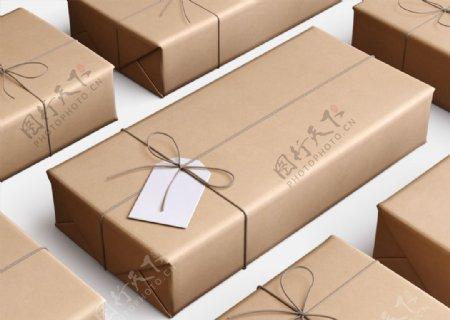 牛皮纸包装牛皮纸包装盒样盒样机图片