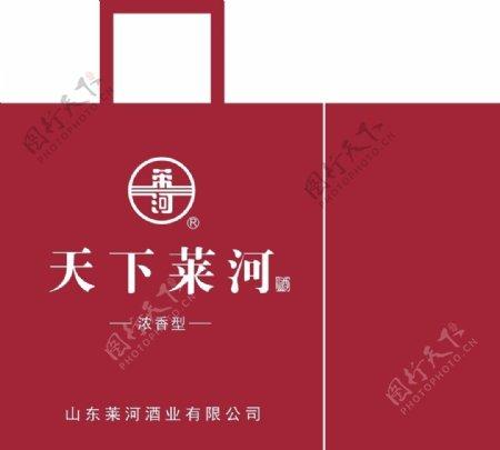 天下莱河标志手提袋图片