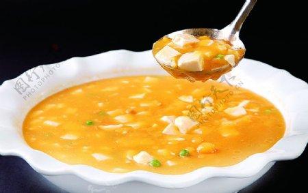 私房豆腐汤图片